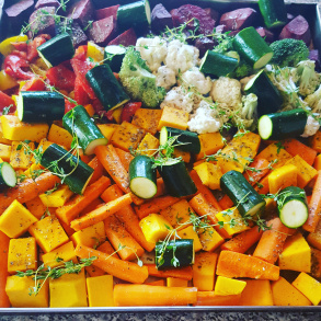 Crunchy Roasted Veggies