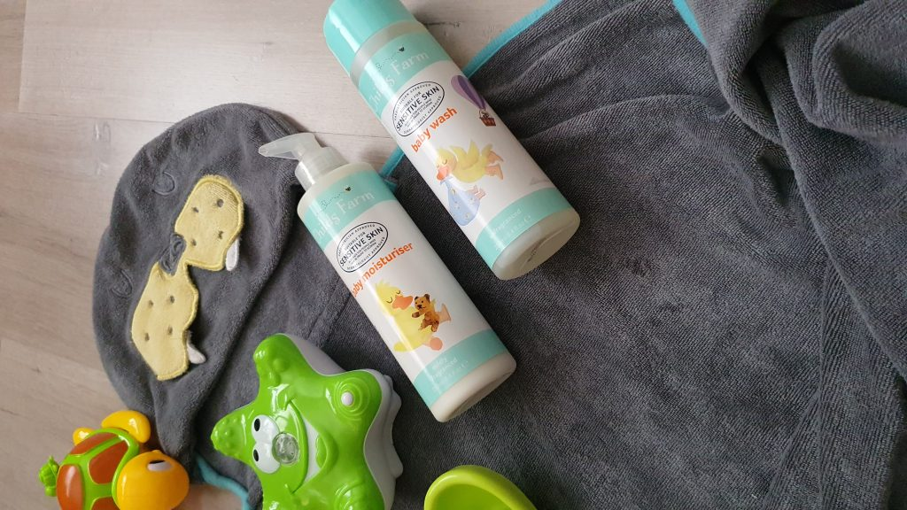 Childs Farm Moisturiser and Baby Wash
