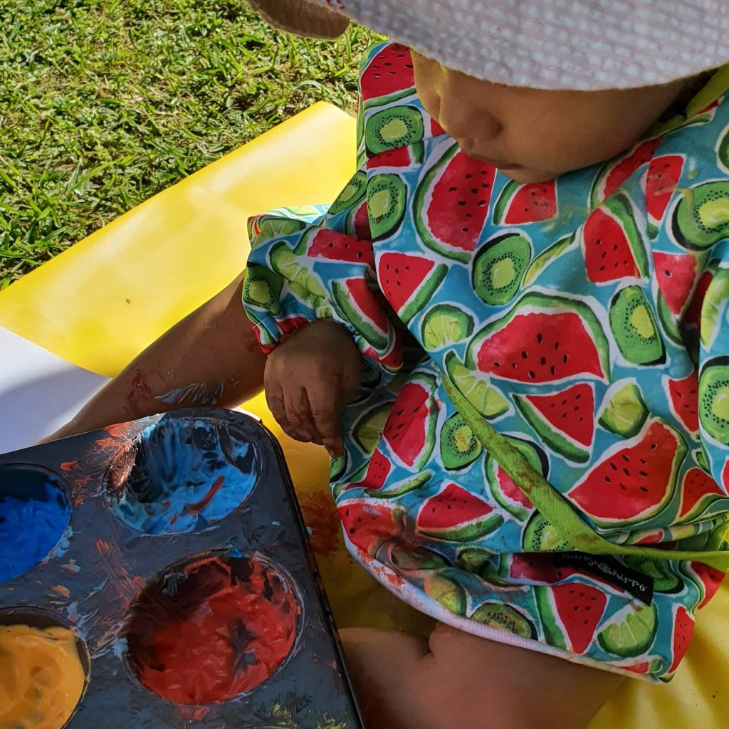 Hipporoo  2in1 Apron and Bib
